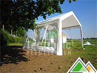3x4 partytent PE