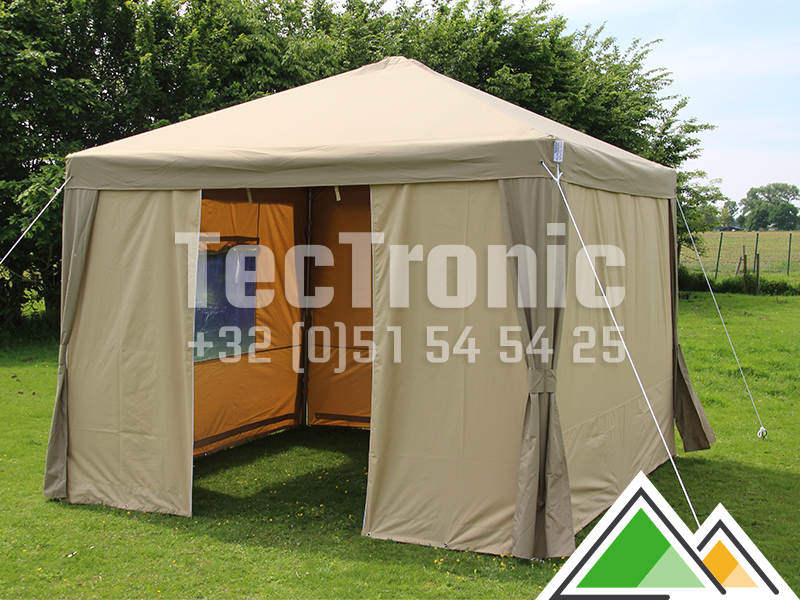Mooie partytent 4x8 polyester