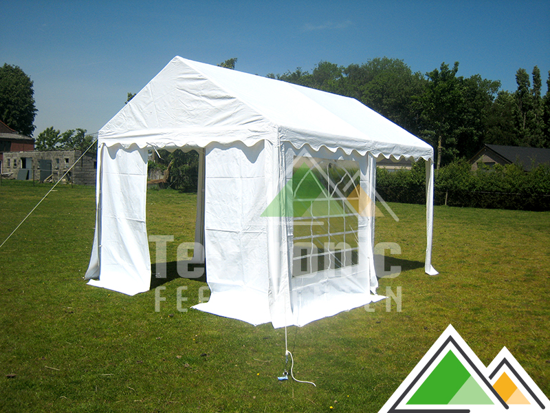 professionele partytent 3 x 4 m te koop met zwaar en sterk pvc doek. Black Bedroom Furniture Sets. Home Design Ideas