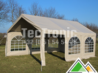4x6 partytent PE