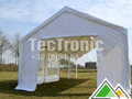 5x10 partytent in wit pvc