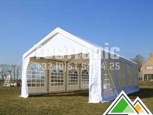 Partytent 5x8 | PVC Pro 50 | Duurzame feesttent 5 x 8 m met